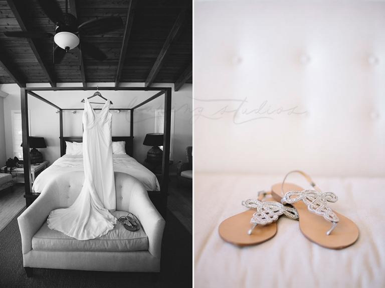 Wedding details at La Siesta Resort in Islamorada, Fl