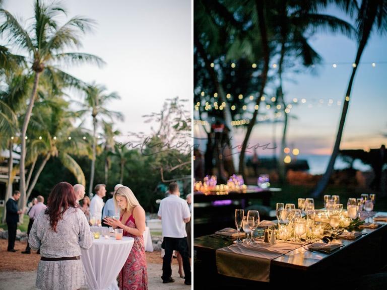 key largo wedding reception