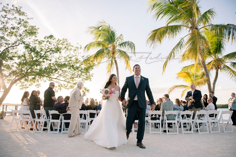 Coconut Palm Inn Wedding Ceremony